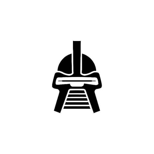 Battlestar Galactica Cylon 2 Vinyl Sticker
