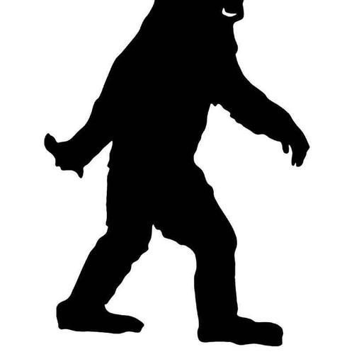 Believe Sasquatch Bigfoot 2 Vinyl Sticker