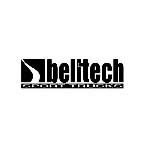 Belltech Vinyl Sticker