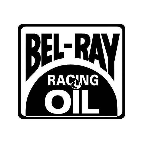 Bel Ray Racing Oil Vinyl Sticker