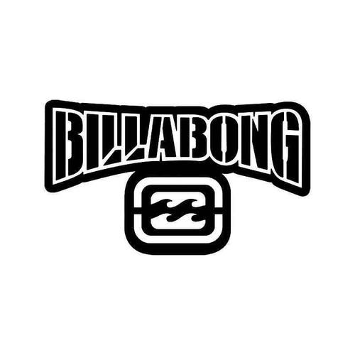 Billabong Logo 6 Vinyl Sticker