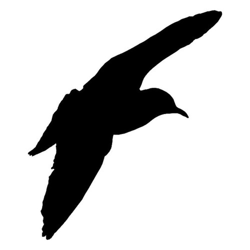 Bird Flying Vinyl Sticker