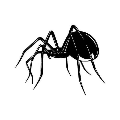 Black Widow Spider Arachnid Vinyl Sticker