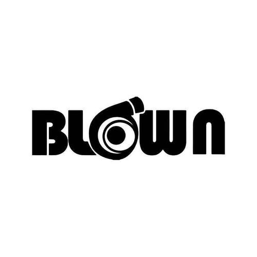 Blown Turbo Engine Jdm Japanese Vinyl Sticker