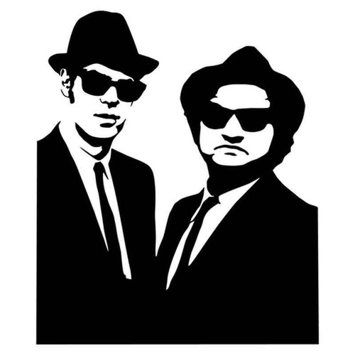 Blues Brothers 1923 Vinyl Sticker