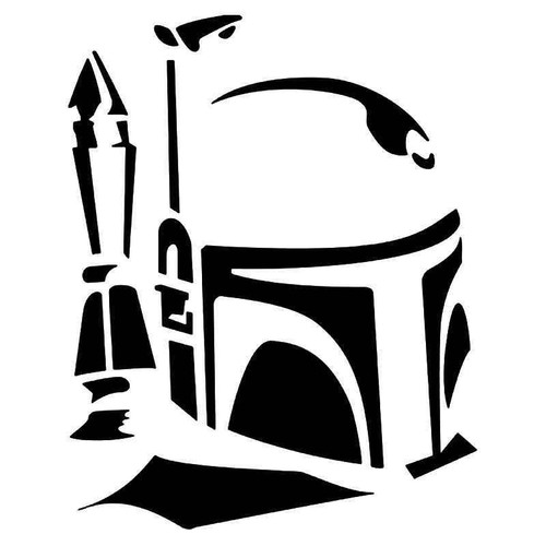 Boba Fett Star Wars Vinyl Sticker