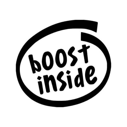 Boost Inside Turbo Nos Jdm Japanese Vinyl Decal Sticker