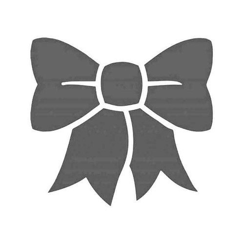 Bow Tie Ribbon Vinyl Sticker