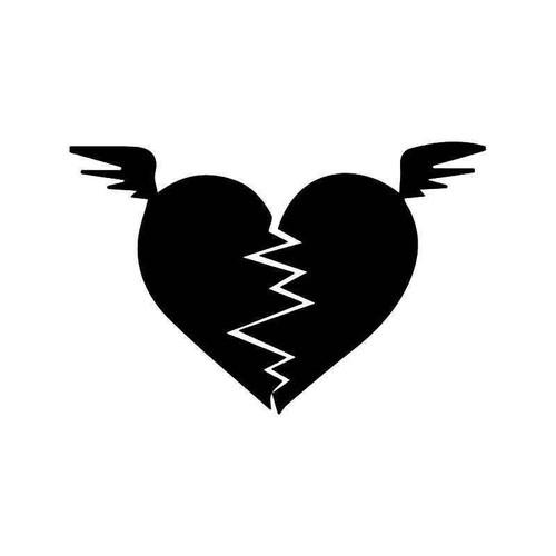 Broken He Flying Wings Vinyl Sticker