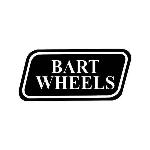 B Wheels Vinyl Sticker