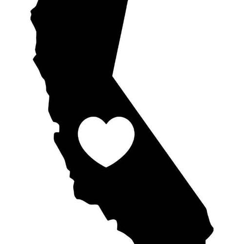 California Love Vinyl Sticker