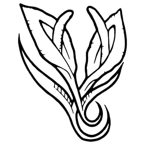 Calla Lily Flower 3 Vinyl Sticker