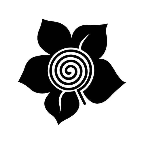 Candy Grind Flower Vinyl Sticker