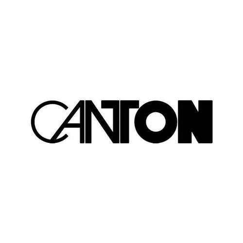 Canton Vinyl Sticker