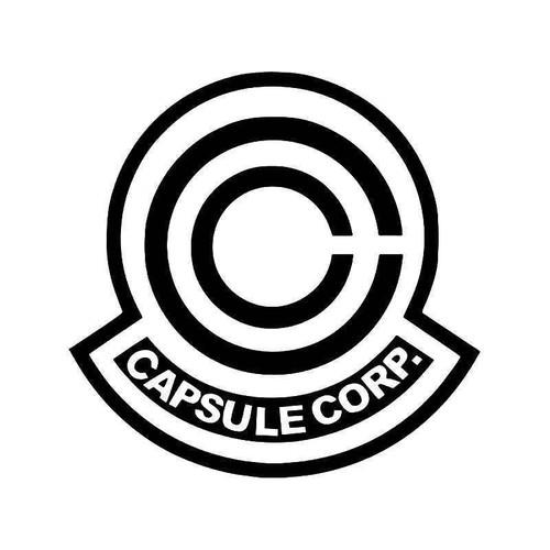 Capsule Corp Dragon Ball Z Vinyl Sticker