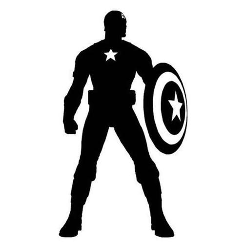Captain America 679 Vinyl Sticker