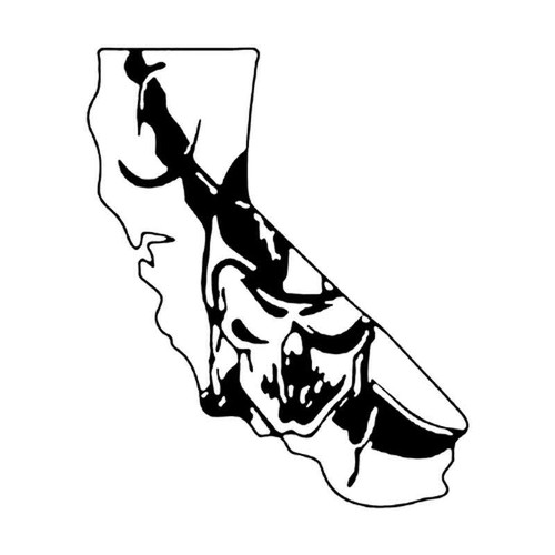 Ca Raiders 319 Vinyl Sticker