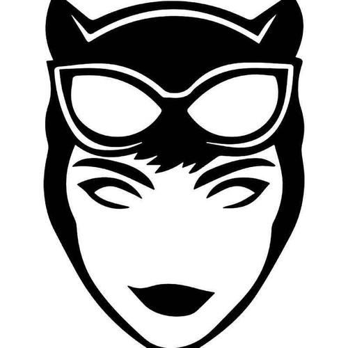 Cat Woman 3 Vinyl Sticker