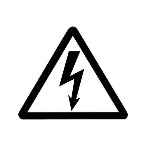 Caution High Voltage Jdm Japanese Vinyl Sticker