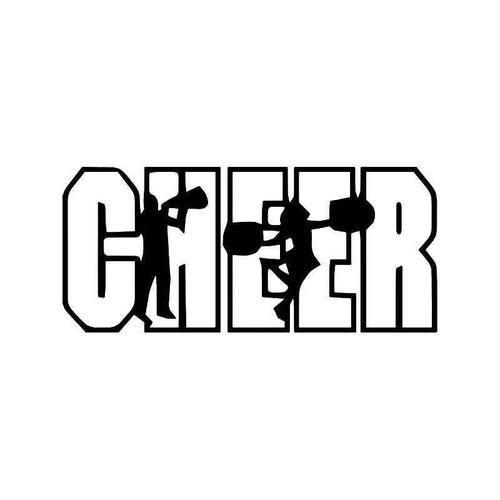 Cheer Cheerleaders Vinyl Sticker
