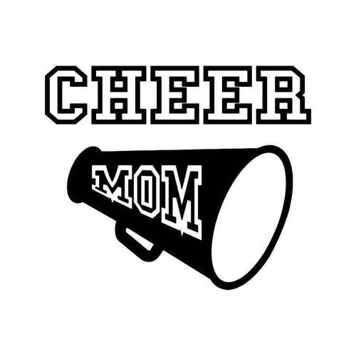 Cheer Mom Vinyl Sticker