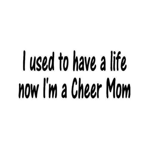 Cheer Mom 1 Vinyl Sticker