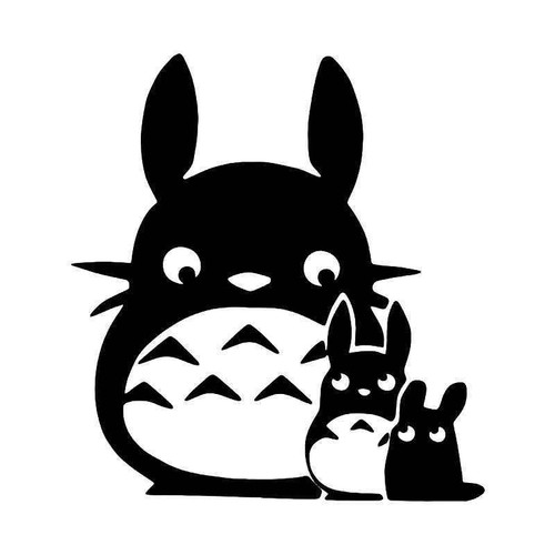 Chibi Chu Totoro Ghibli Vinyl Sticker
