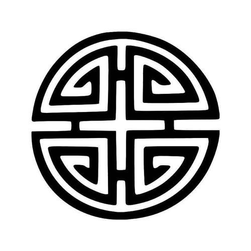 Chinese Feng Shui Four Seasons Symbol Vinyl Sticker