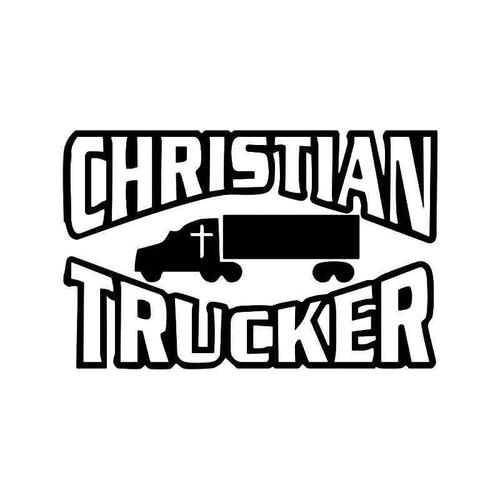 Christian er Vinyl Sticker