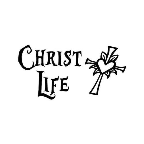 Christ Life Christian 1 Vinyl Sticker