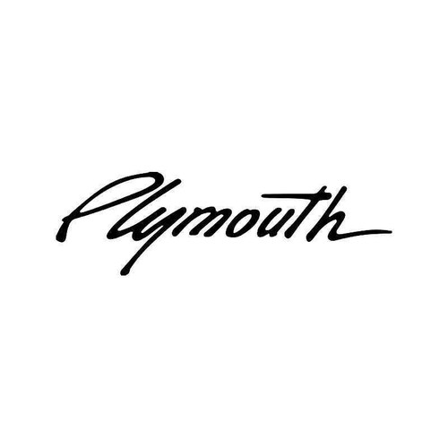 Chrysler Plymouth 1 Vinyl Sticker