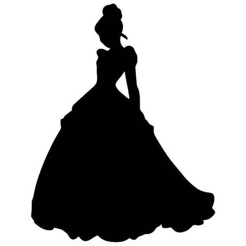 Cinderella Princess Vinyl Sticker