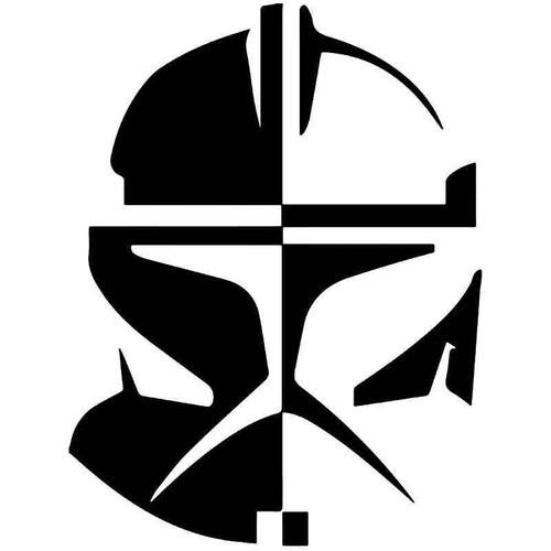 Clone Trooper Star Wars Vinyl Sticker