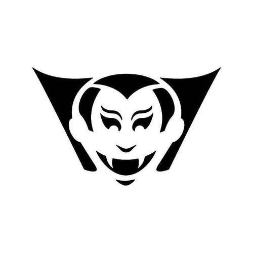 Count Dracula Vampire 2 Vinyl Sticker