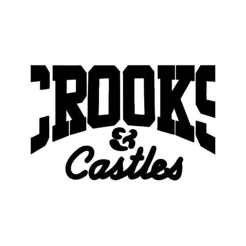 Crooks And Castles 2 Vinyl Sticker