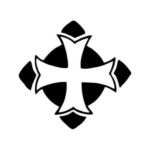 Cross Christian Vinyl Sticker