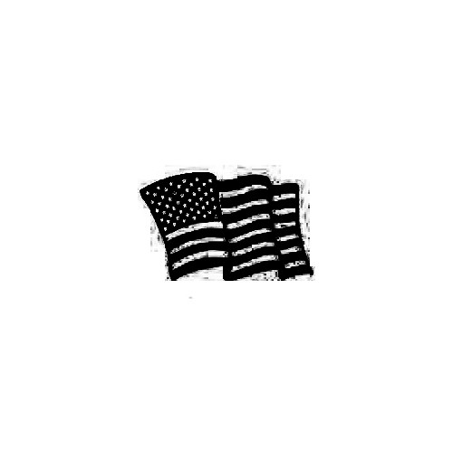 American Flag 01 Decal Size option will determine the size from the longest side Industry standard high performance calendared vinyl film Cut from Oracle 651 2.5 mil Outdoor durability is 7 years Glossy surface finish