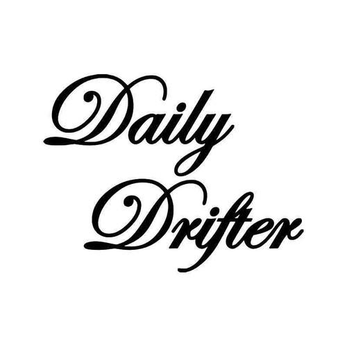 Daily Drifter Drift Jdm Japanese 2 Vinyl Sticker