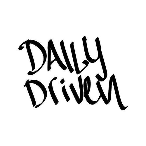 Daily Driven Jdm Japanese 4 Vinyl Sticker