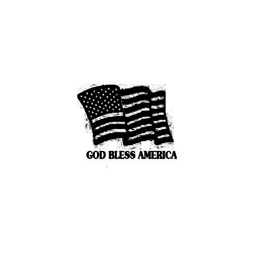 American Flag 01 Quote Decal Size option will determine the size from the longest side Industry standard high performance calendared vinyl film Cut from Oracle 651 2.5 mil Outdoor durability is 7 years Glossy surface finish