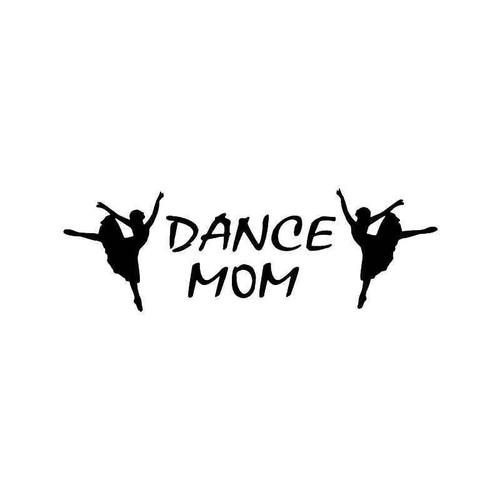 Dance Mom Ballet Vinyl Sticker