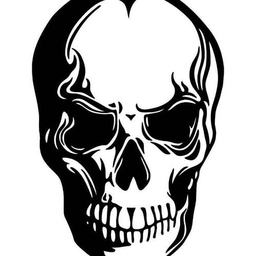 Death Skull 20 Vinyl Sticker