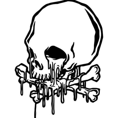 Death Skull 26 Vinyl Sticker