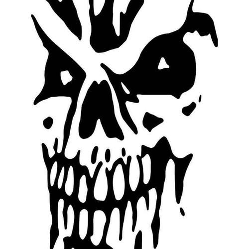Death Skull 33 Vinyl Sticker