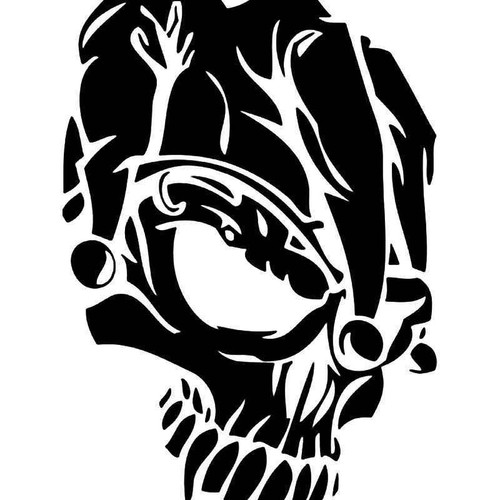 Death Skull 4 Vinyl Sticker