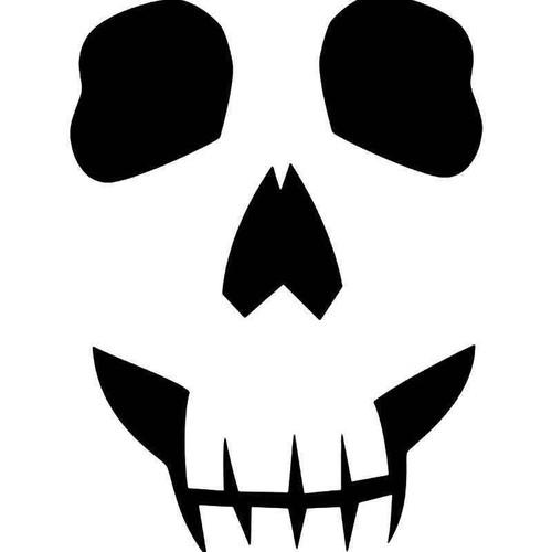 Death Skull 6 Vinyl Sticker