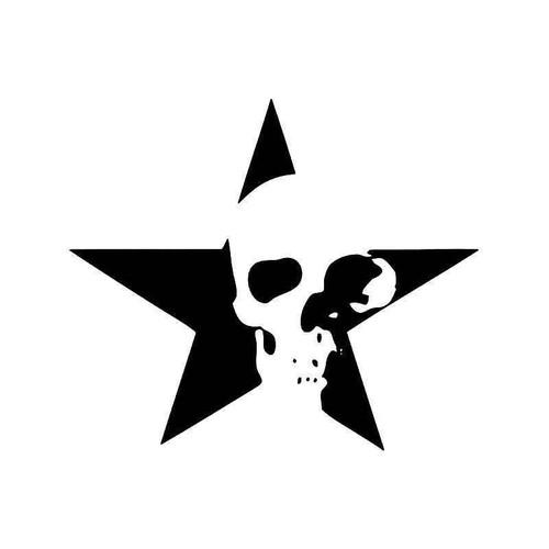 Death Star Skull Vinyl Sticker