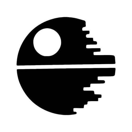 Death Star Star Wars Vinyl Sticker