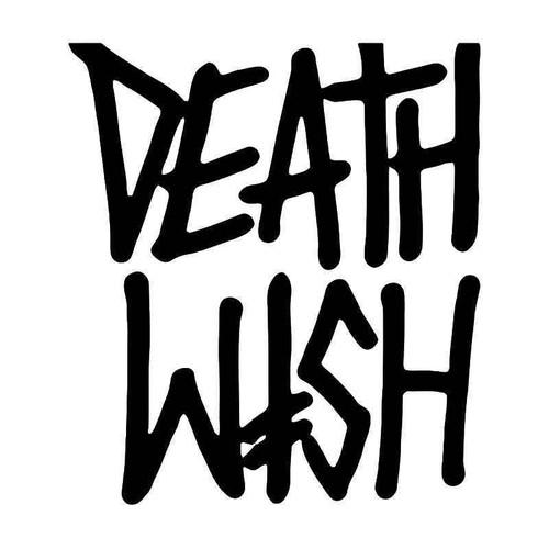 Deathwish Skateboard Logo 1 Vinyl Sticker