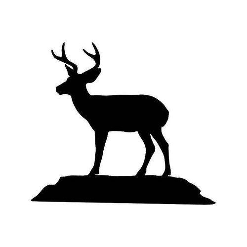 Deer Buck 14 Vinyl Sticker